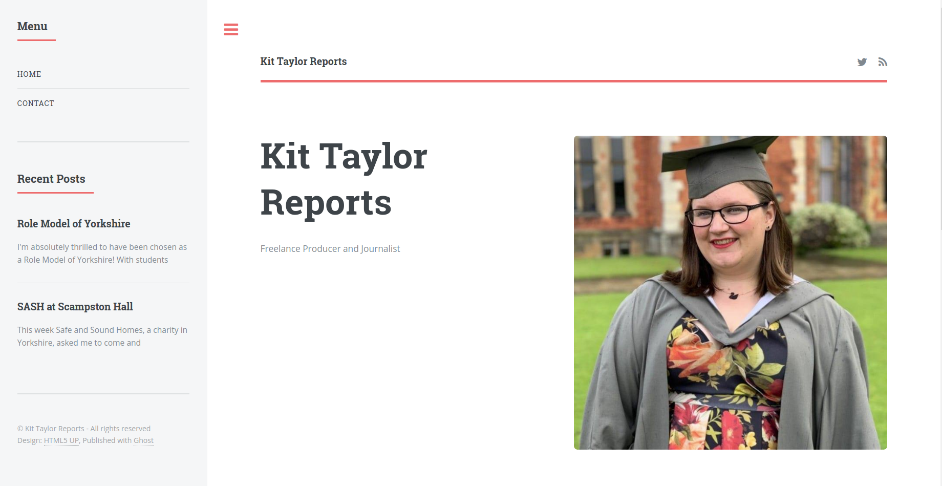 Kit Taylor Reports Homepage